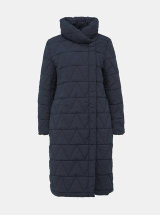 Tmavě modrý zimní kabát VILA Jaxie