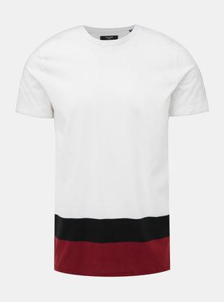 Bílé tričko Jack & Jones Terrance