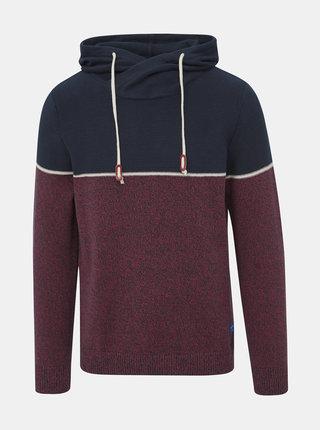 Červeno-modrý žíhaný sveter Jack & Jones Brayson