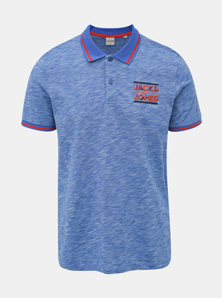 Modré polo tričko Jack & Jones CORE Foni