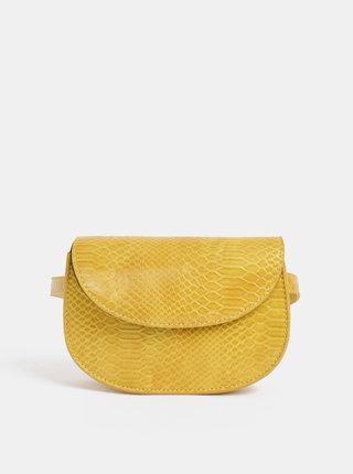 Žltá ľadvinka s hadím vzorom Pieces Iman
