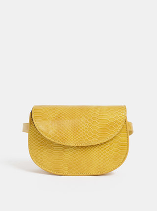 Žlutá ledvinka s hadím vzorem Pieces Iman