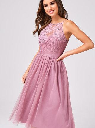 Svetlofialové šaty Little Mistress