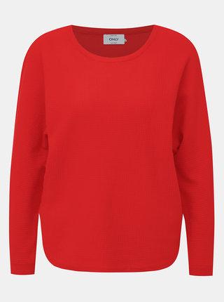 Červený svetr ONLY Leah