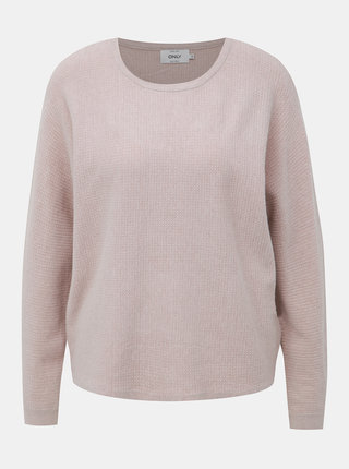Béžový svetr ONLY Leah