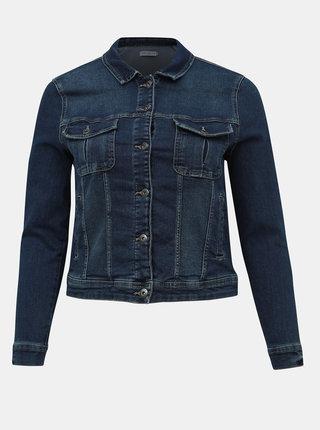 Tmavě modrá džínová bunda ONLY CARMAKOMA Town