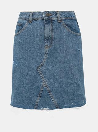 Modrá rifľová sukňa Noisy May Rosina
