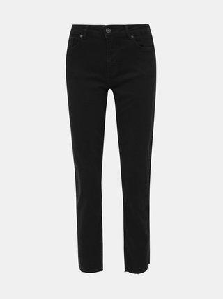 Černé zkrácené slim fit džíny Noisy May Jenna