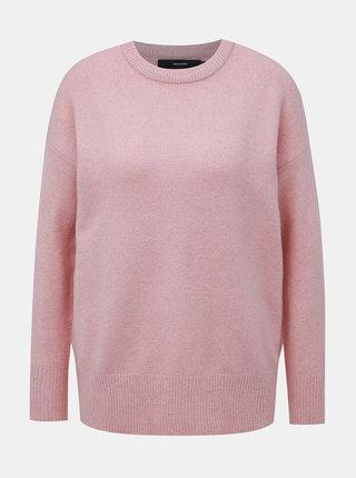 Rúžový sveter VERO MODA Mure