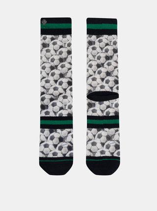 Bílé pánské vzorované ponožky XPOOOS
