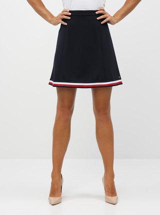Tmavomodrá sukňa Tommy Hilfiger Angela
