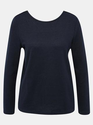 Tmavě modrý svetr s krajkou Jacqueline de Yong Kalli