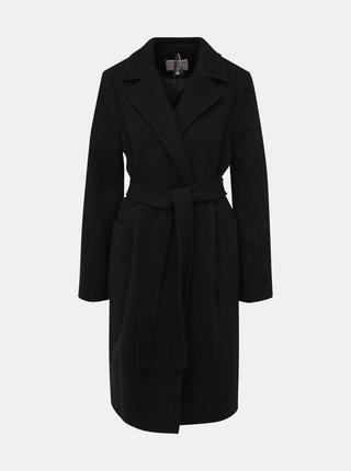 Černý těhotenský kabát Dorothy Perkins Maternity