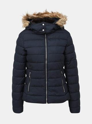 Tmavě modrá dámská zimní bunda Alcott