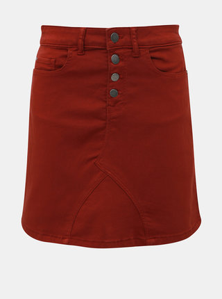 Hnědá sukně Jacqueline de Yong Lara
