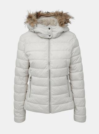 Krémová dámská zimní bunda Alcott