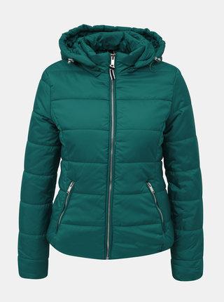 Zelená dámská zimní bunda Alcott