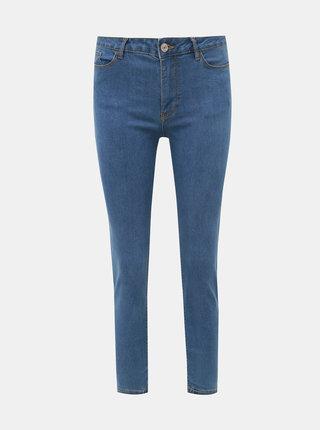 Modré dámské zkrácené skinny fit džíny Alcott