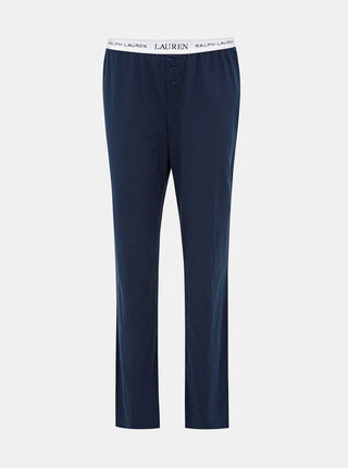 Tmavě modré dámské pyžamové kalhoty Lauren Ralph Lauren