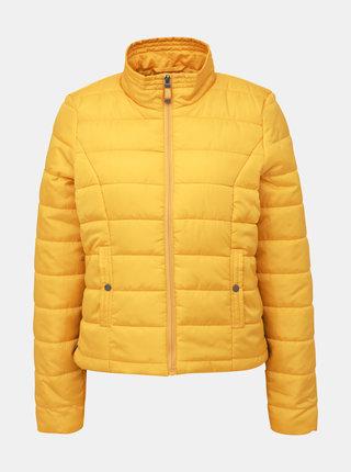 Žlutá zimní prošívaná bunda VERO MODA Simone