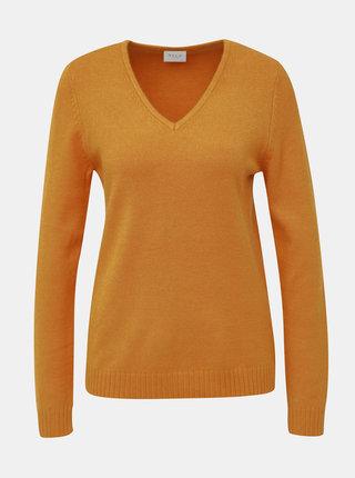 Oranžový svetr VILA Viril