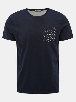 Tmavě modré tričko Selected Homme Jorn