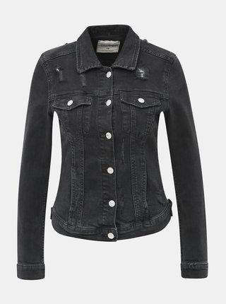 Čierna rifľová bunda TALLY WEiJL