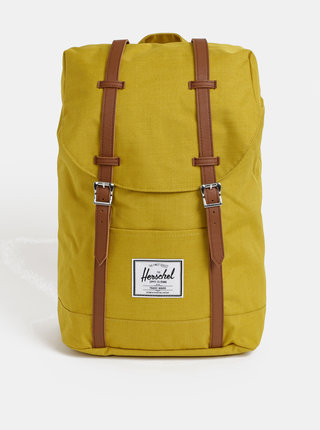 Horčicový batoh Herschel Supply Retreat 19,5 l