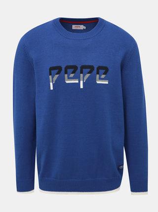 Modrý pánský svetr Pepe Jeans Luis