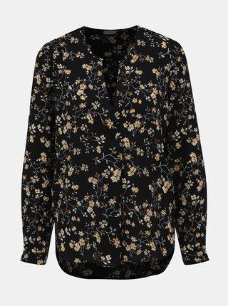 Čierna kvetovaná blúzka Jacqueline de Yong Zoey