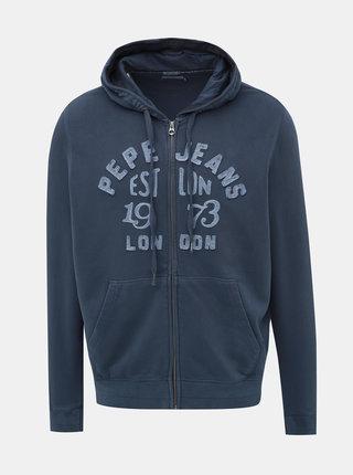 Modrá pánska mikina Pepe Jeans Lope