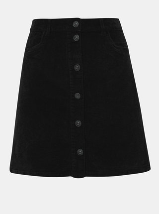 Černá manšestrová sukně ONLY Global