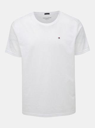 Bílé pánské basic tričko Tommy Hilfiger