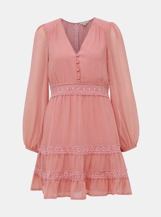Růžové šaty Miss Selfridge
