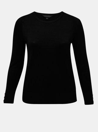 Čierny sveter Dorothy Perkins Curve