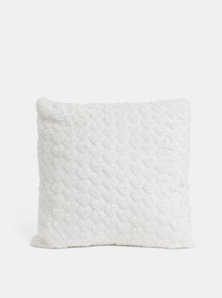 Bílý polštář Dakls