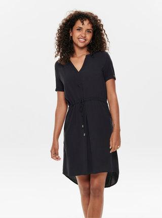 Černé šaty s krajkou Jacqueline de Yong Mason