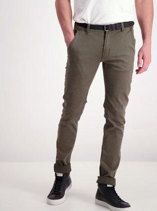 Khaki chino kalhoty Shine Original