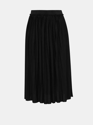 Černá plisovaná midi sukně Jacqueline de Yong Sophia