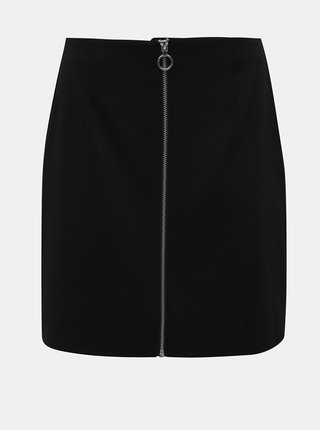 Čierna sukňa VERO MODA Cisse