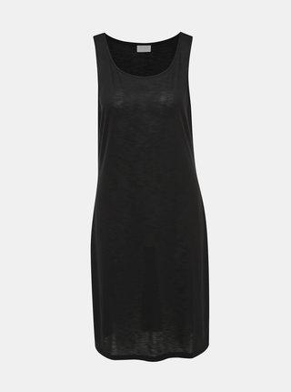 Tmavošedé basic šaty VILA Noel
