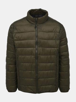 Khaki prošívaná bunda Burton Menswear London
