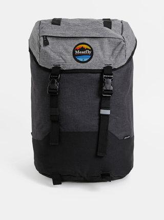 Tmavě šedý batoh Meatfly Pioneer 4 26 l