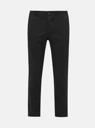 Čierne slim fit nohavice Selected Homme Floyd