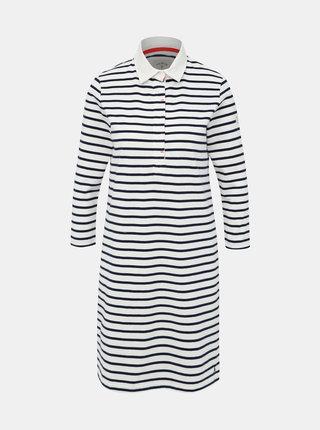 Bílé pruhované šaty Tom Joule Winona