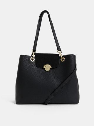 Černá kabelka s oboustrannou klopou Gionni Grenoble