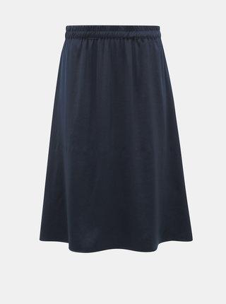 Tmavě modrá sukně VILA Abota