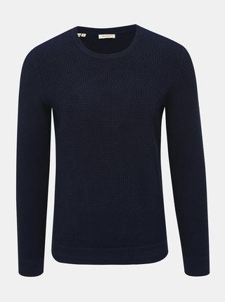Tmavomodrý sveter Selected Homme Oliver