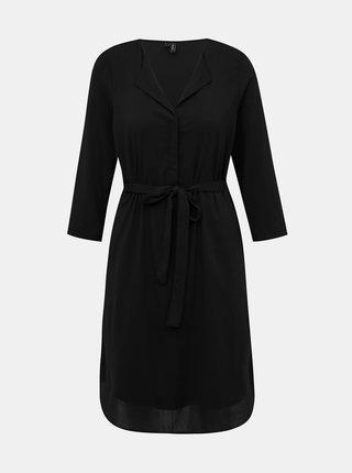 Černé šaty VERO MODA Grace