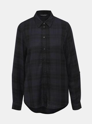 Čierna kockovaná košeľa Dorothy Perkins